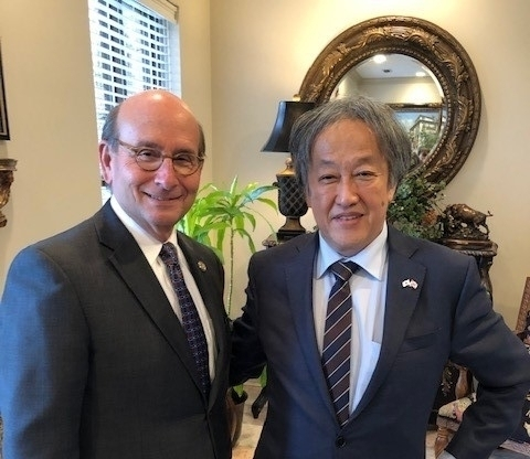 CG Takeuchi attends Welcome Reception in Hoover
