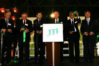 CG Hanatani at JTI ribbon-cutting