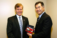 CG Hanatani and Gov. McDonnell