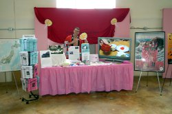 Booth at the Macon Cherry Blossom Festival